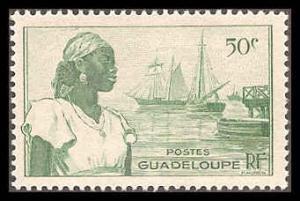 Guadeloupe 191 Mint VF LH