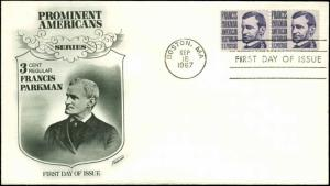 US FDC #1281 Fleetwood cachetBoston, MA Prominent Americans Series