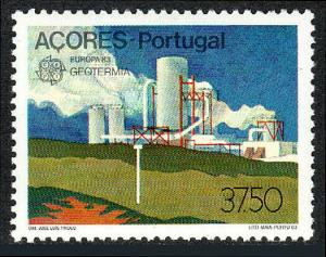 Portugal Azores 336, Mint. Europa. Geothermal energy, 1983