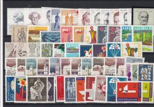 Yugoslavia Mint Never Hinged Stamps Ref 30620