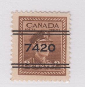 CANADA PRECANCEL REGINA 4-250