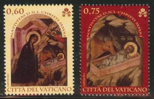 Vatican City Scott Unknown numbers MNH** 2011 set