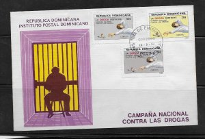 DOMINICAN REPUBLIC STAMPS, COVER   #MAYOP3