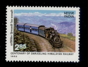 INDIA QEII SG1069, 1982 India Darjeeling/Himalayan railway, NH MINT.