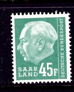 Saar 301 MLH 1957 issue