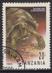 Tanzania 1128 Geochelone Elephantopus 1993