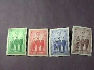 AUSTRALIA # 184-187-MINT NEVER/HINGED--COMPLETE SET------1940(LOTF)