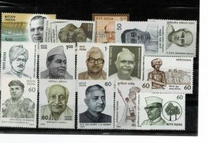 India - modern lot mnh fine high cv