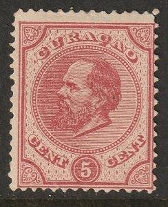 Netherlands Antilles 1881 Sc 3 MNG(*)