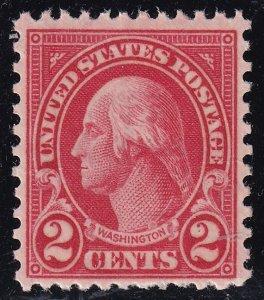 US STAMP #634 1926-28 Rotary Stamp 2¢ Washington MNH/OG