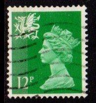 Wales - #WMMH18 Machin Queen Elizabeth II - Used
