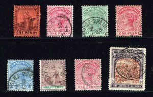 UK Trinidad And Tobago USED STAMP COLLECTION LOT
