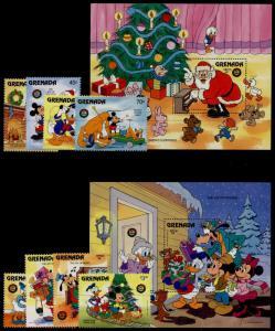 Grenada 1406-15 MNH Disney, Christmas Toys