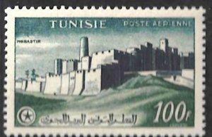 Tunisia C17 100fr Monastir MLH CV$8 1954 [133342]