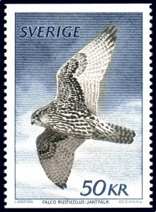 Sweden 1981 #1351 MNH. Falcon, definitive