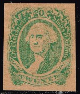 US STAMP #CSA13 – 1863 20c Confederate States -  'Facsimile STAMP