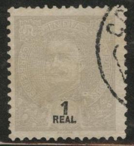 Portuguese India Scott 197 Used King Carlos issue 1898-1903