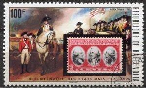 Burkina Faso (ex Upper Volta) 1975: Sc. # 355: O/Used CTO Single Stamp