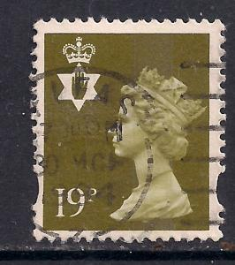Northern Ireland GB 1993 - 2000 QE2 19p Bistre Machin C/B SG NI 69 ( C753 )