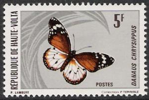 Upper Volta #247 Butterflies & Moths MNH