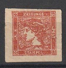 Austria Newspaper Stamp Mint OGH