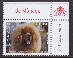 Monaco, Fauna, Dogs MNH / 2019