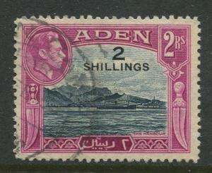 STAMP STATION PERTH Aden #44 - KGVI Definitive Overprint 1951 Used CV$3.50.