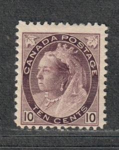 Canada Sc#83 M/H/F, Queen Victoria O.G., Cv. $425