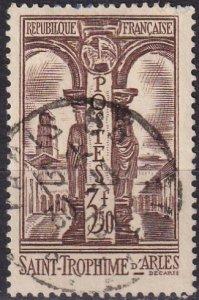 France  #302 F-VF Used  CV $4.25 (Z2443)