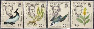 Falkland Islands #433-6  MNH CV $6.20 (Z8280)