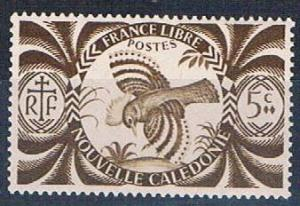 New Caledonia 252 MLH Kagu bird (N0569)+