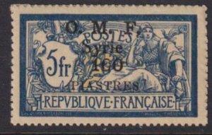 Syria 1921 SC 53 MNH