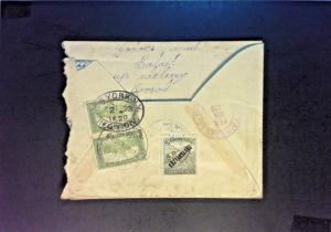 Hungary 1920 Registered Cover to USA - Z858