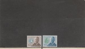 NORWAY 535-536 MNH 2019 SCOTT CATALOGUE VALUE $4.00