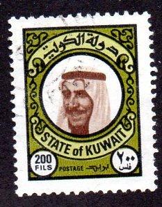KUWAIT 729 USED SCV $9.00 BIN $3.75 POLITICS