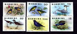 Barbuda 238-43 MNH 1976 Birds