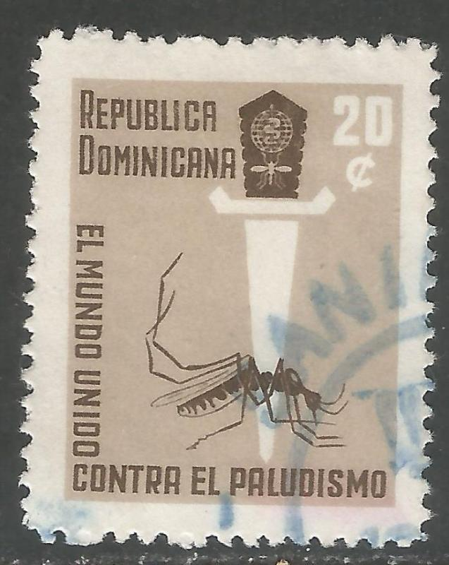 DOMINICAN REPUBLIC 559 VFU INSECT Y167-2