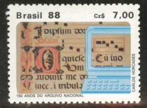 Brazil Scott 2125 MNH** 1987 Archive stamp