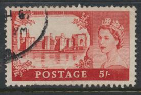Great Britain  SG 596a SC# 372 Used  Wilding definitive BW Printing