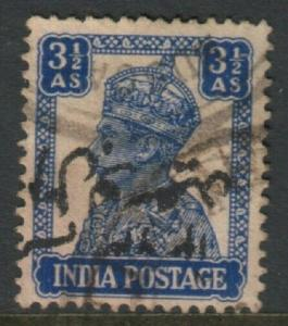 MUSCAT 1944 Al-Busaid opt on India - Forged overprint and cancellation.....15396
