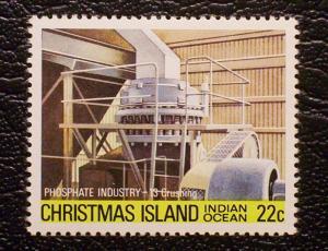 Christmas Island Scott #107 unused