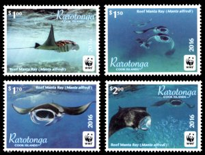 Cook Islands 2016 Scott #1547-1550 Mint Never Hinged