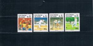 Solomon Islands 694-697 MNH Sports (S0034)