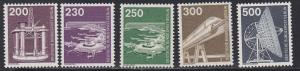 Germany # 9N374-376, Various Industries, NH, 1/2 Cat.