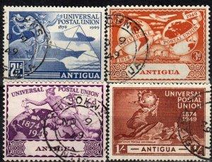 Antigua #100-03  F-VF Used CV $7.70  (X1237)