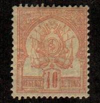 Tunisia #6  Mint  Scott $110.00