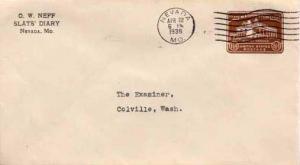 United States, Postal Stationery, Missouri
