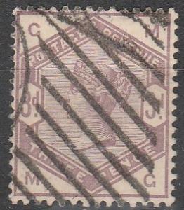 Great Britain #102 F-VF Used CV $100.00 (C3969)