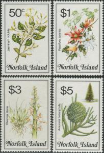 Norfolk Island 1984 SG330-333 Flowers MNH