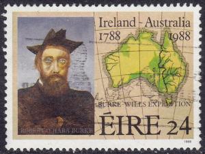 Ireland - 1988 - Scott #709 - used - Robert O'Hara Burke Australia
